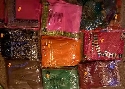 Designer sarees with matching blouse sell for Diwali & Navratri for 6-10 y. girl