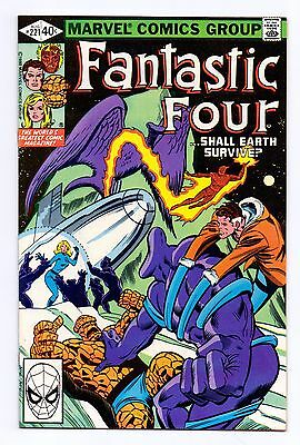 Marvel Comics: Fantastic Four #221
