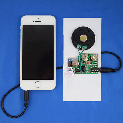 Re-recordable Musical Insert Sound Module for Greeting Card Audio Chip for Cards