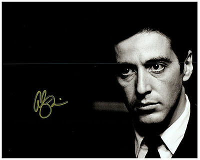 AL PACINO Authentic Signed Autographed 8X10 Photo w/ COA - Photo 2