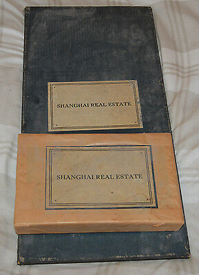 Extremely Rare Very Old Monopoly - Shanghai Real Estate - Free Postage