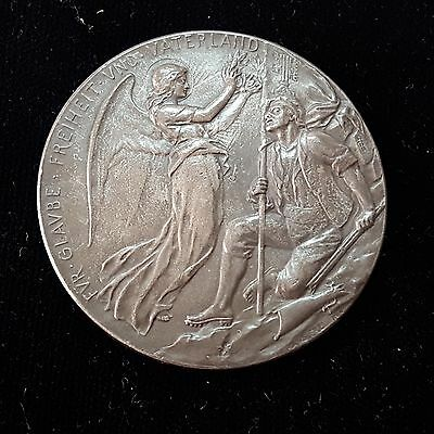 1798 Germany Silver Angel Lakes and Mountains Medal 3402