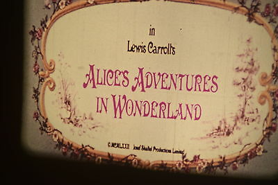 16MM FEATURE THE ADVENTURES OF ALICE IN WONDERLAND colour PETER SELLERS british