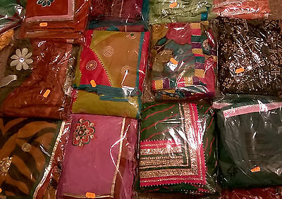 Designer sarees with matching blouse sell for Diwali & Navratri for 8-12 y. girl
