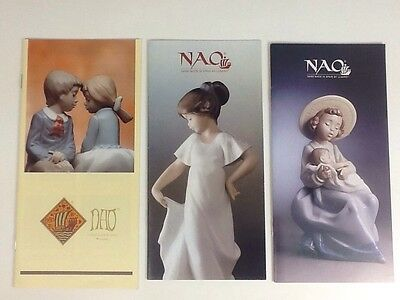 Quanity of Nao Catalogue and Brochures 1991-2001 Joblot