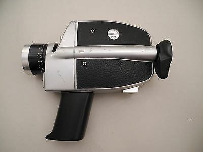 Bauer C2 Super movie camera with case and manual untested As Is