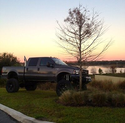 2002 Ford F-350 lariat  MONSTER 2002 Ford F-350 7.3 Powerstroke diesel low miles lifted rust free truck