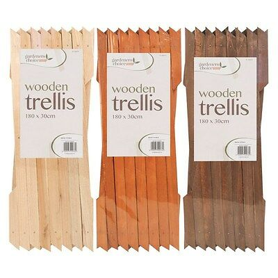 Expanding Wooden Garden Trellis 6 x 1 ft (Available In 3 Colours)