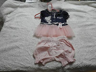 Guess baby girl dress size 0-3months