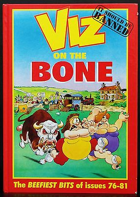 Viz Annual On The Bone The Beefiest Bits Of Issues 76-81 1998