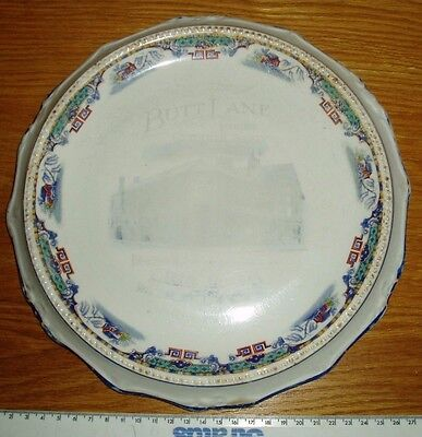Butt Lane Industrial Co-Operative Society Plate Vintage 1929 Kidsgrove 29cm