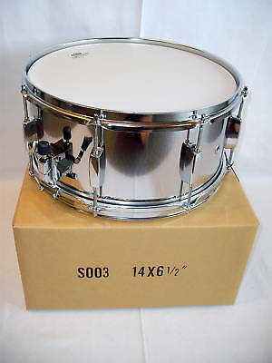 Top Snaredrum Metall 14 x 6,5 Supercussion Snare SD-101