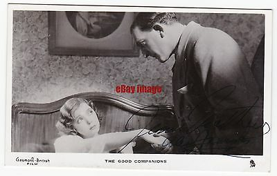 Film. Jessie Matthews and Alex Fraser in The Good Companions. Signed postcard