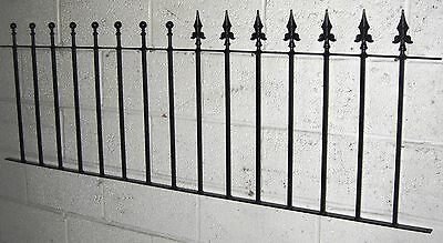 """36"""" Square Bar  Wrought Iron Metal Fencing/railings Ball Or Spear Top"""