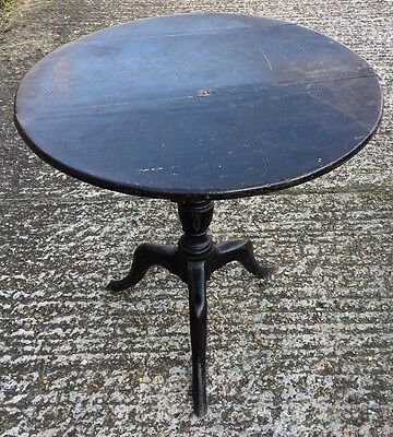 George 111 oak Country House Tripod Table