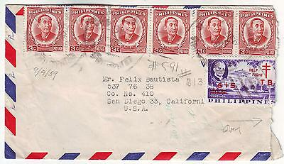 Phillipines - Cover, to California 1959