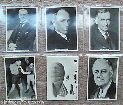 Ardath Cigarette Cards Photocards Various 12 x odd cards