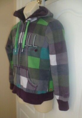 O'Neill Hoodie Fleece lined good condition  13/16 years