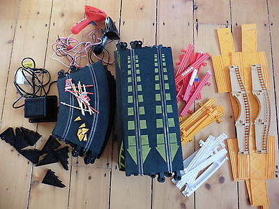 Lot of Scalextric Classic Track and parts 93 items C150 C151