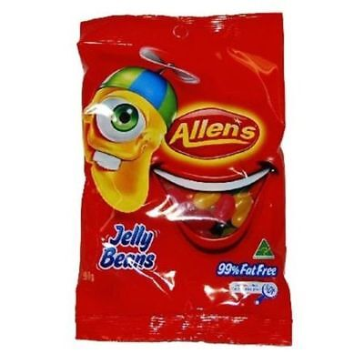 Conf Allens Jelly Beans H/pack 190Gm
