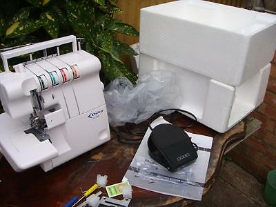 Delta OL - 1000   Electric Overlock  , Overlocker  Sewing Machine * SEE VIDEO  *