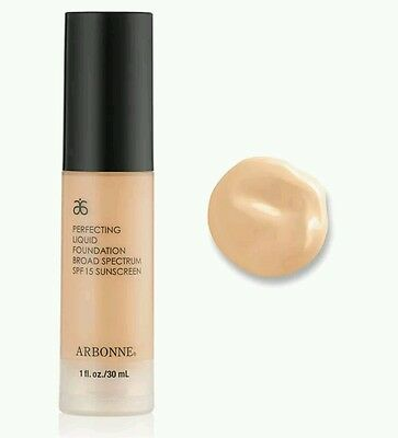 ARBONNE Liquid Foundation RRP$61, Shade: BUFF (FREE POSTAGE)