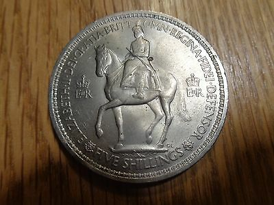 1953 Great Britain Five Shillings Coin