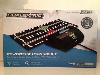 Scalextric RCS ARC AIR Powerbase Upgrade Kit C8434 with Wireless Controllers