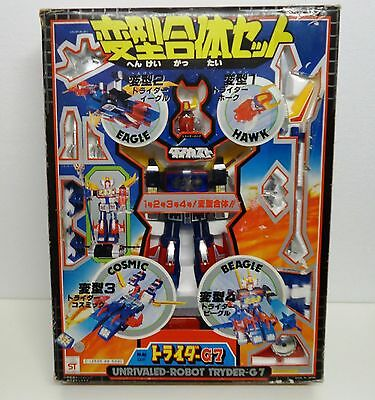 Vintage TOY Deluxe Tryder G7 DX Trider by clover - JAPAN