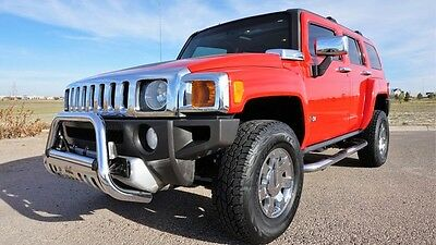 2009 Hummer H3 SUV Luxury 2009 Red SUV Luxury! Clean Carfax, Loaded, Texas!!