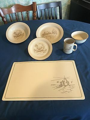 Antique Dinnerware from Collection Manoir from Coree Just in time for Christmas