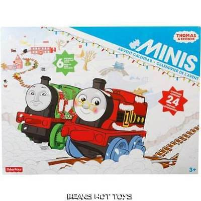 Thomas & Friends MINIS Advent Calendar w/ 6 Exclusive Holiday Minis