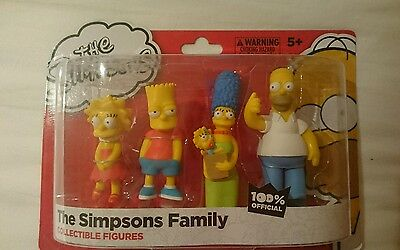 ~The Simpsons family collectable  figures BNIB~