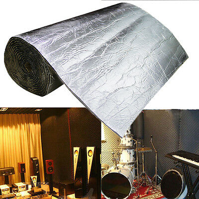 """40""""x40"""" 6mm Acoustic Soundproof Sound Absorption Pyramid Studio Insulation mat"""