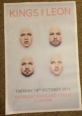 Large A1 Kings of Leon - Walls Poster - Limited Edition, Rare & Collectable