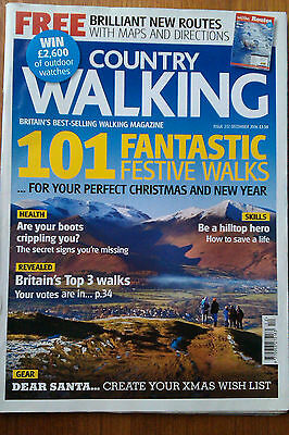 Country Walking Magazine December 2006 In Very Good Condition
