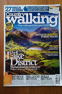 Country Walking Magazine May 2009 In Reasonable Condition
