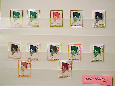 INDONESIA stamps  1965-66   ~~L@@K~~