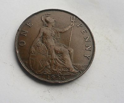 George V. Penny 1926, in Good Condition.