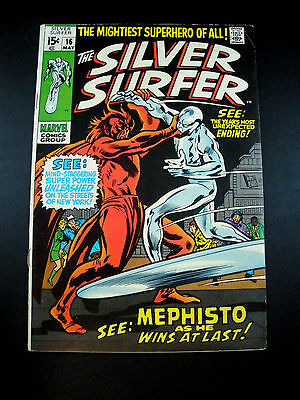 Bronze Age Marvel Comics Silver Surfer #16 FN 1970