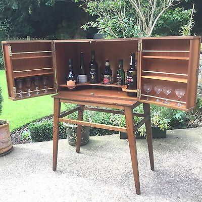 Extremly Rare Quality Stunning  Retro Mid Century Drinks/cocktail Cabinet
