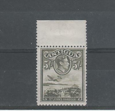 ANTIGUA GVI  5/- s,g. 107 UNMOUNTED MINT
