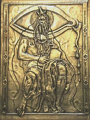 Salvadore Dali Bas Relief Sculpture of Moses Bronze Limited Edition