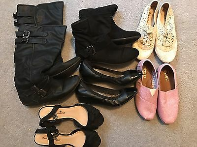 lot of womens shoes size 8