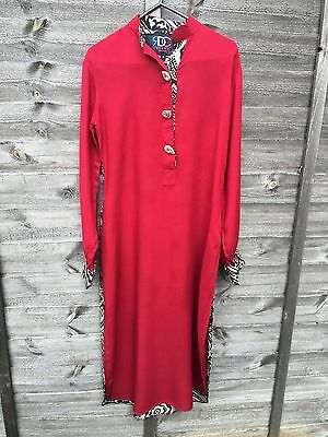 Red kurta Top From RDC Size Small