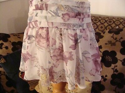 Bnwt Genuine John Galliano Signed And Lined Summer Skirt Age 6 Was £104