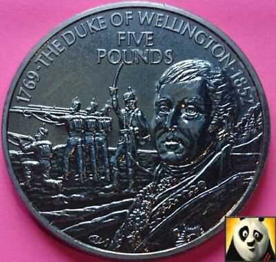 2001 FALKLAND ISLANDS Queen Victoria 50p Pence Crown Size Silver Proof Coin