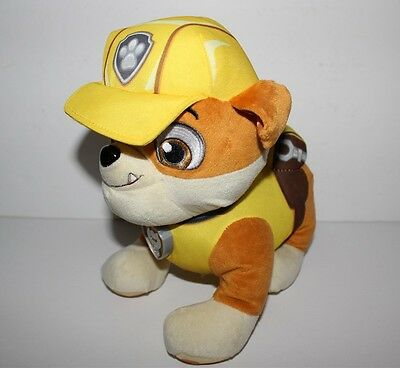 Paw Patrol Rubble Battery Operated Plush Soft Toy