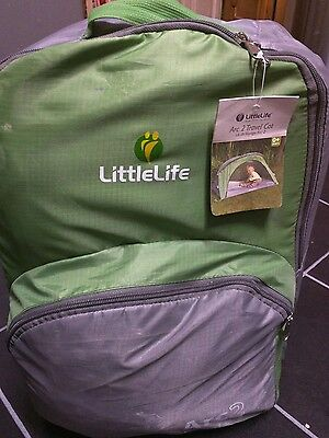 LittleLife Arc 2 Travel Cot  in green NEW with tags