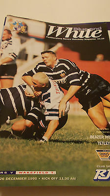 26.12.95 Featherstone Rovers v Wakefield Trinity programme